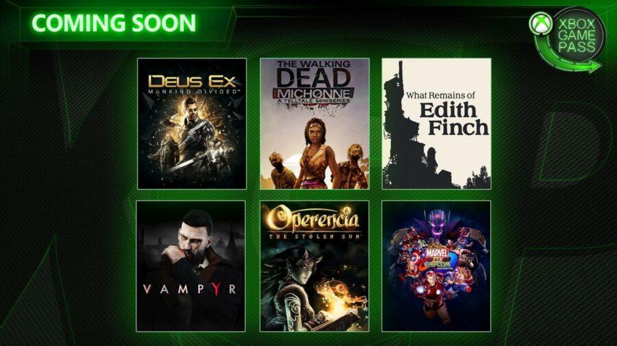 Confira as novas opções de jogos do Xbox Game Pass
