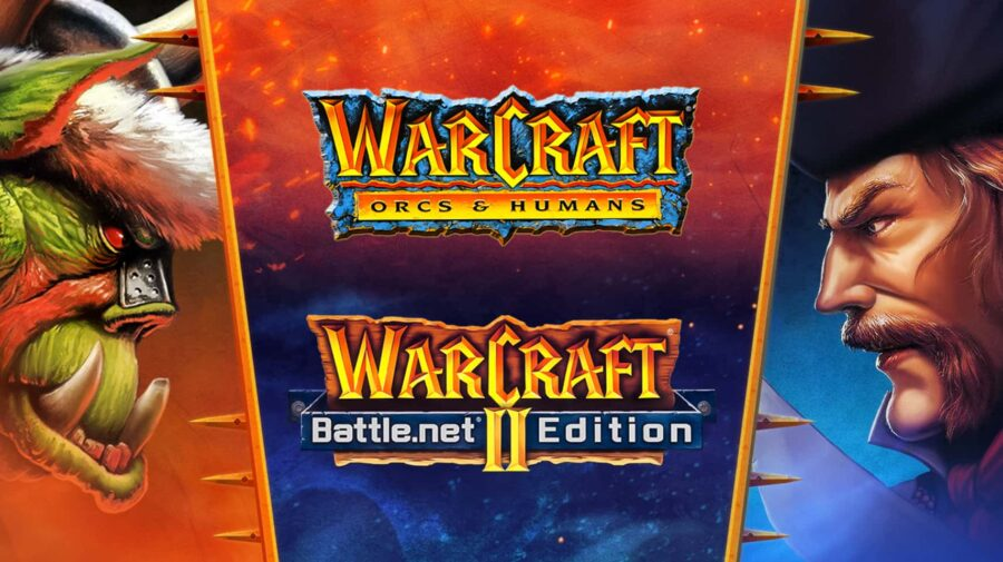 Pela primeira vez na história, Warcraft I e II são distribuídos digitalmente