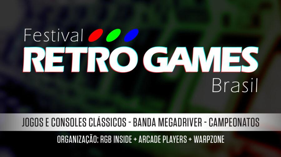 Festival Retro Games será em São Paulo e trará o melhor dos consoles clássicos