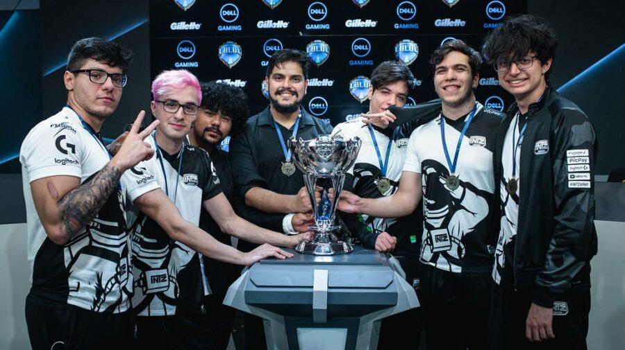 """""""League of Legends"""": Campeã brasileira, INTZ define jogadores que disputarão o MSI"""