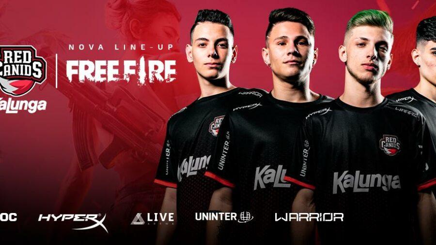 """""""Free Fire"""": Red Canids anuncia nova equipe que disputará o Mundial"""