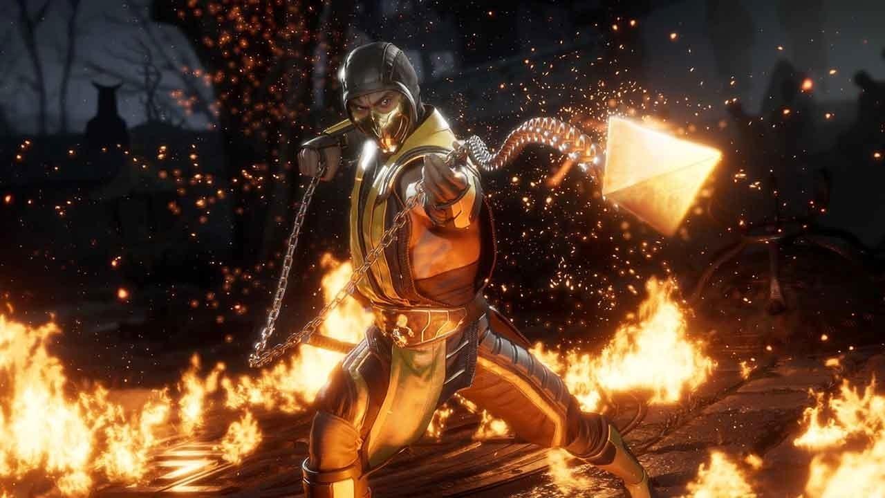 Scorpion em Mortal Kombat 11. Foto: Divulgação