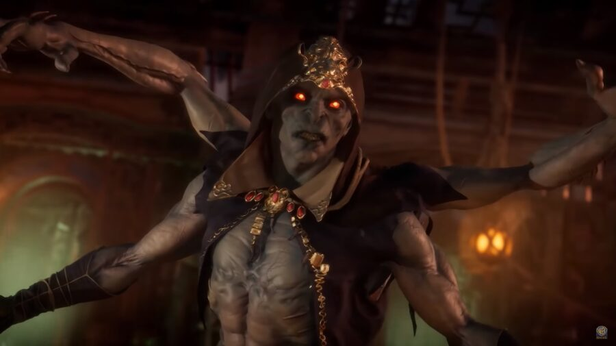 "Kollector - Confiram o monstruoso novo personagem de ""Mortal Kombat 11"""