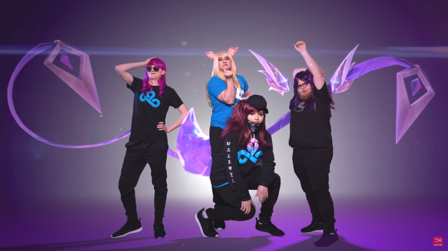 """League of Legends"": Cloud9 faz cosplay das skins K/DA"