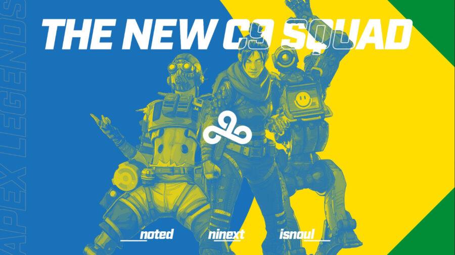 Cloud9 anuncia time brasileiro para Apex Legends