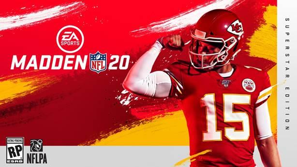 Madden NFL 20 é revelado e Patrick Mahomes do Kansas City Chiefs será a capa do jogo