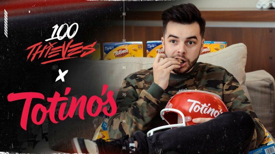 100 Thieves expande sua parceria com Totino's
