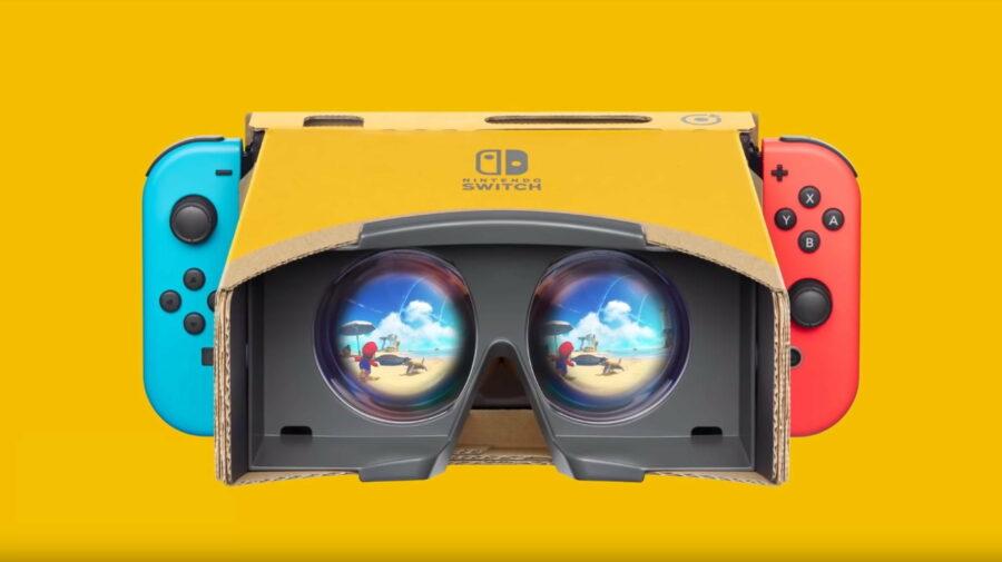 """""""Mario Odyssey"""" e """"Breath of the Wild"""" receberão suporte para Realidade Virtual por meio de Nintendo Labo"""