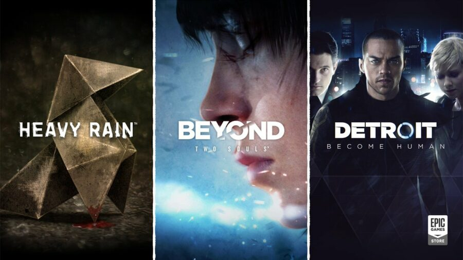 Detroit: Become Human, Heavy Rain e Beyond: Two Souls ganham data de lançamento na Epic Games Store