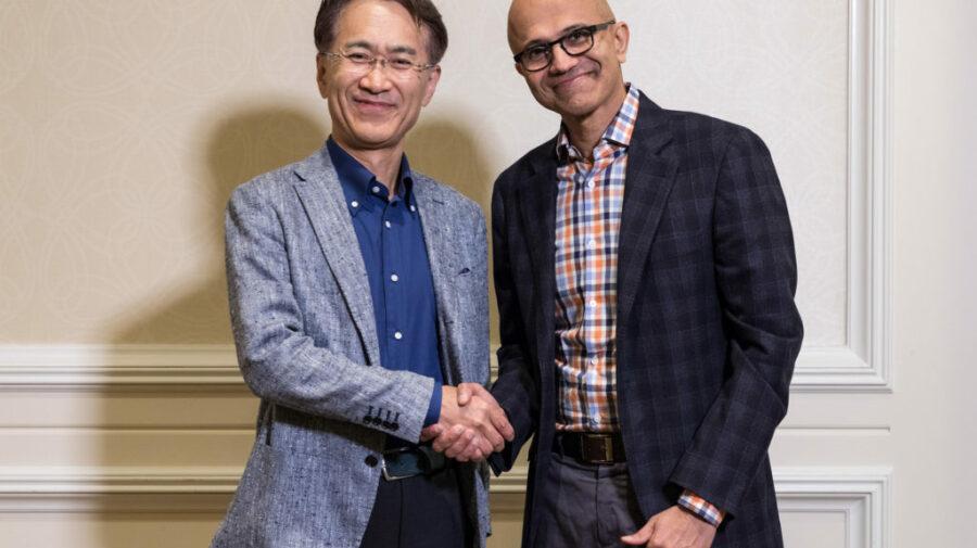 Sony e Microsoft anunciam parceria para melhorar serviços e tecnologia na nuvem