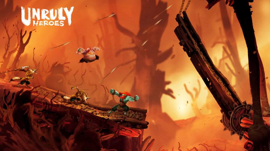 Aclamado jogo de plataforma Unruly Heroes chega ao PS4 em maio