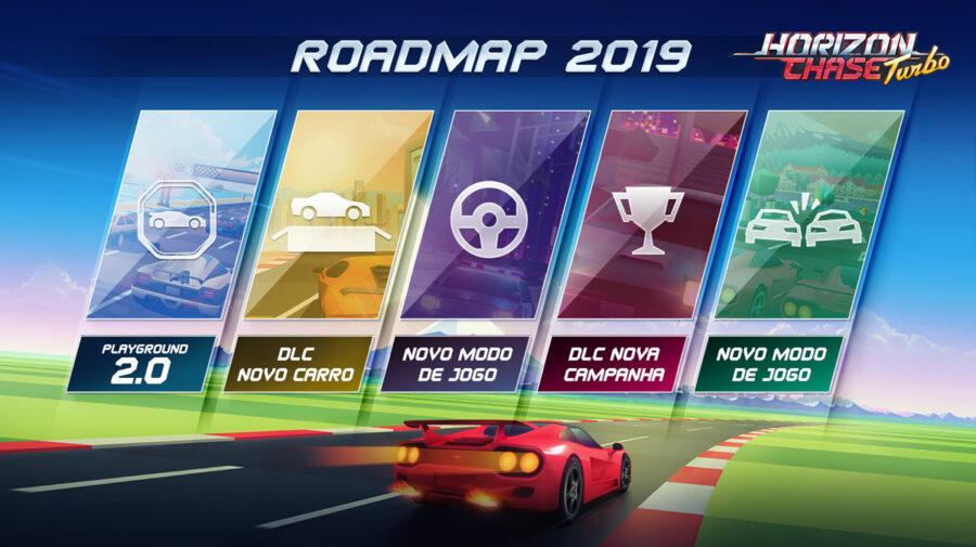 Jogo brasileiro Horizon Chase Turbo ganhará novos modos em atualização