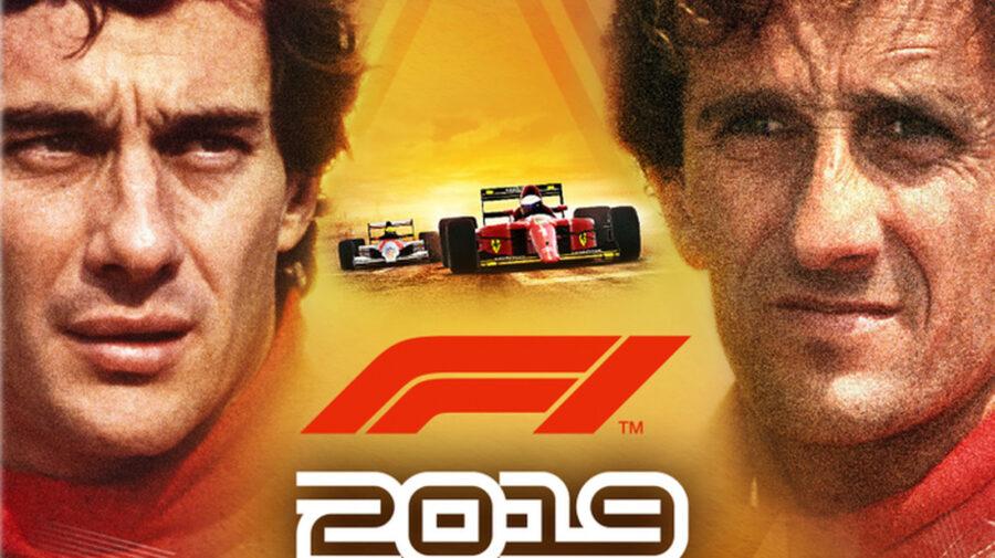 Edição especial de F1 2019 resgata rivalidade entre Ayrton Senna e Alain Prost