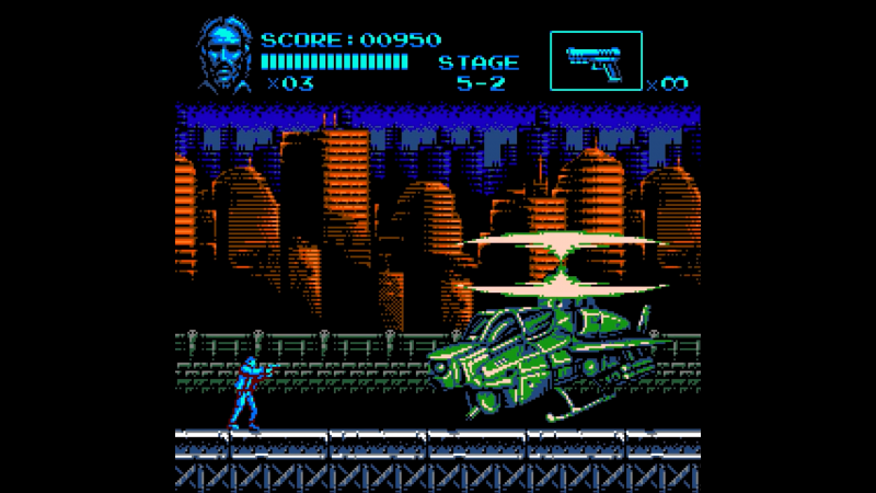 Estúdio de Blazing Chrome transforma John Wick em game de NES