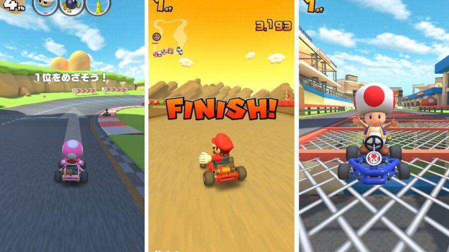 Primeiros vídeos de Mario Kart Tour para mobiles vazam na internet