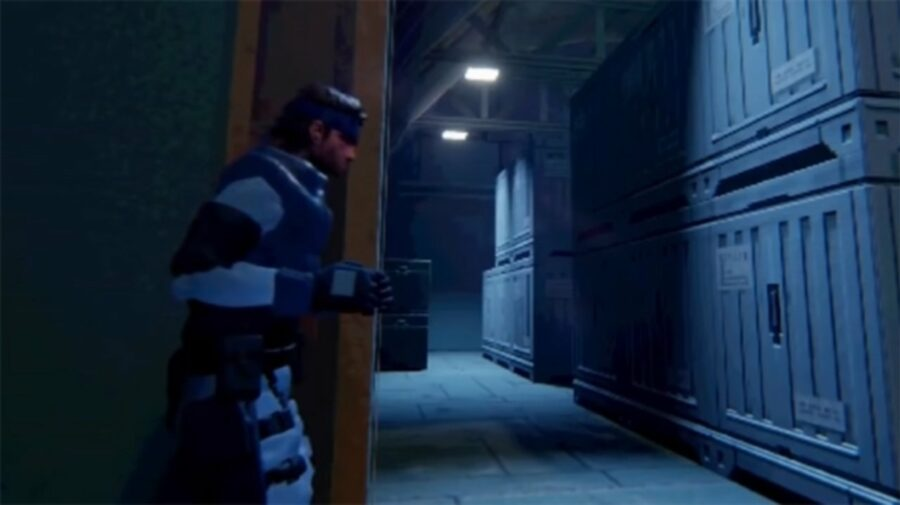 Fã recria primeiro Metal Gear Solid dentro de Dreams