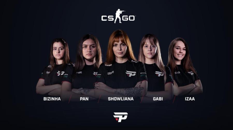 CS:GO feminino: recém-chegada no time da paiN, izaa admite adaptação tranquila