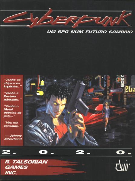 O livro-RPG Cyberpunk 2020