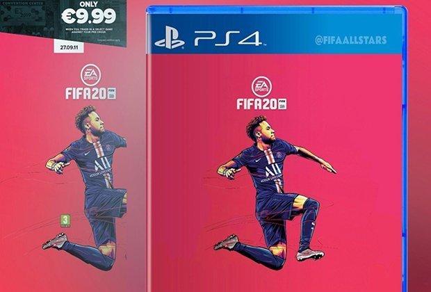 EA nega que Neymar está na capa de FIFA 20