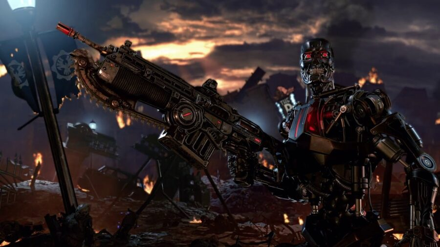 E3 - Gears 5 ganha data de lançamento e crossover com Exterminador do Futuro