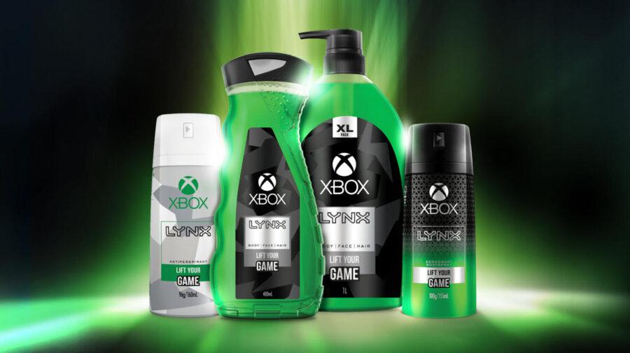 Xbox anuncia parceria com Axe para linha de produtos de higiene
