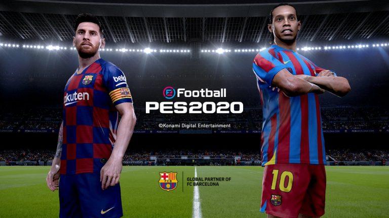 E3 - Konami anuncia PES 2020 com destaque para Messi e Ronaldinho Gaúcho