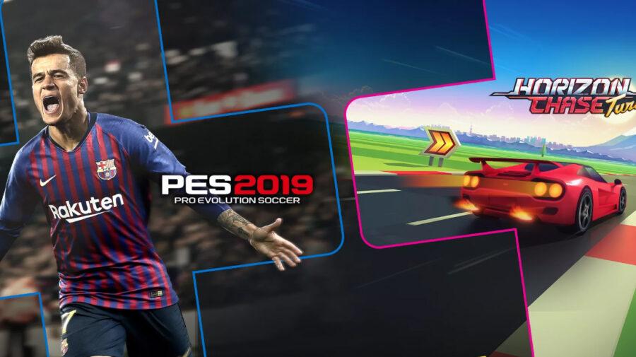 PES 2019 e Horizon Chase Turbo são os títulos gratuitos da PS Plus em julho