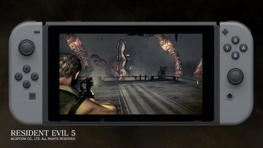 E3 - Resident Evil 5 e 6 são anunciados para Switch