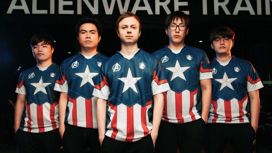 Marvel e Team Liquid anunciam parceria para nova linha de produtos