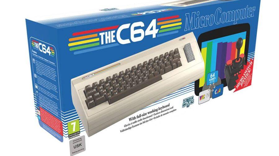 Anunciada versão em tamanho completo do clássico Commodore 64