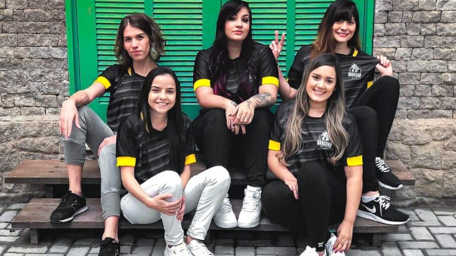 CS:GO: Com AMD e Olga, Black Dragons anuncia line-up feminina para disputar o CBCS