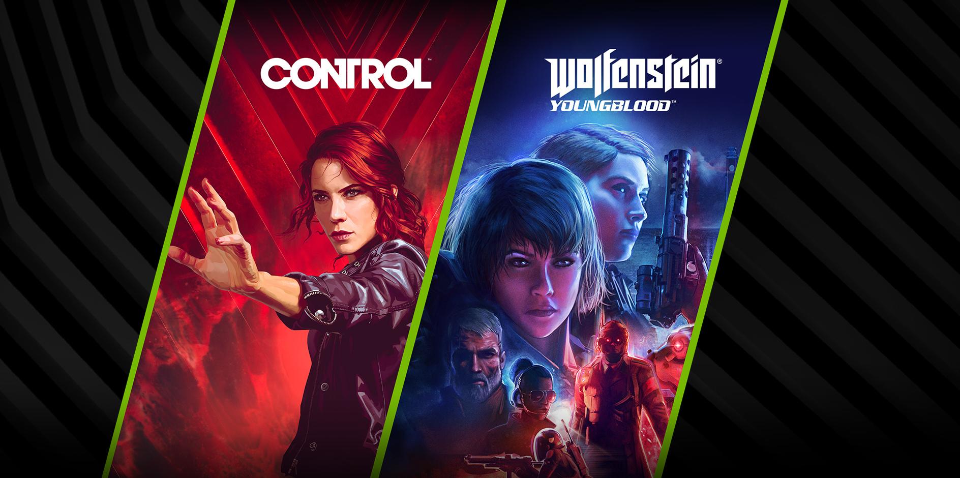 Control e Wolfenstein. Imagem: Divulgação