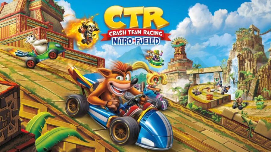 Tema dinâmico gratuito de Crash Team Racing Nitro-Fueled está disponível no PS4