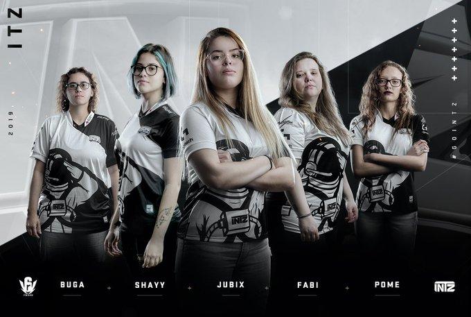 Rainbow Six: INTZ anuncia line-up feminina na modalidade