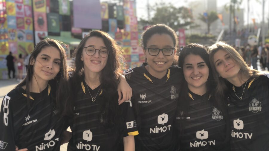 Rainbow Six: Black Dragons vence Resilience e conquista o tricampeonato do Circuito Feminino na Game XP