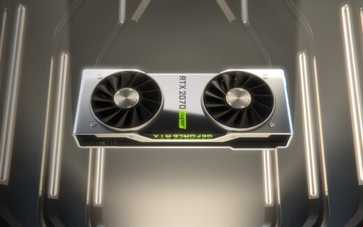 GeForce RTX 2080 SUPER. Foto: Divulgação