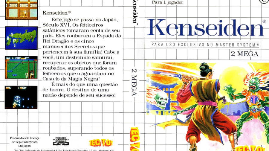 Cool Vibrations: O clássico Kenseiden (Master System)