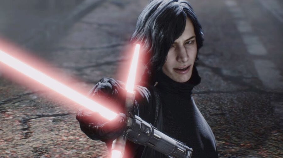 Mod de Devil May Cry 5 transforma V em Kylo Ren de Star Wars
