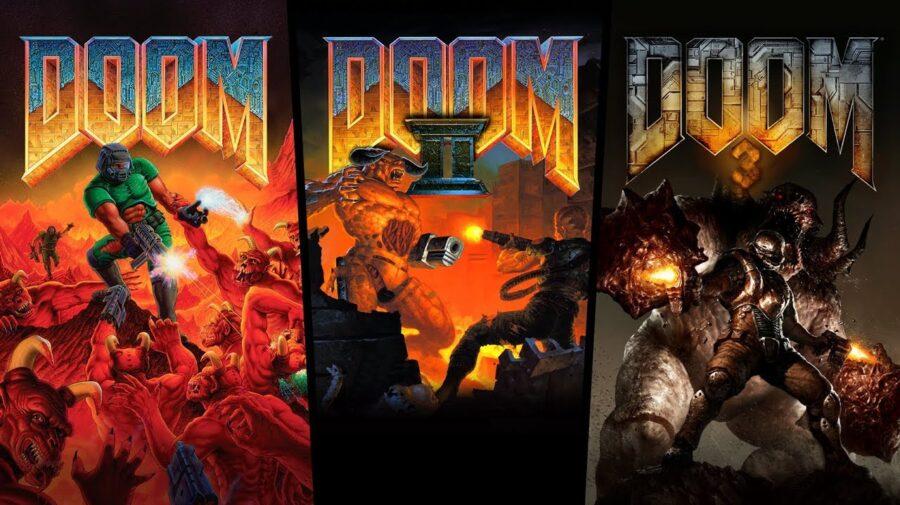 Trilogia clássica de Doom é lançada para PS4, Xbox One e Switch
