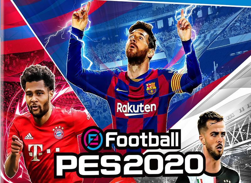 Capa de PES 2020 traz 4 jogadores; demo já está disponível