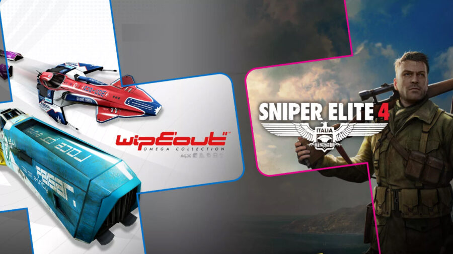 WipEout Omega Collection e Sniper Elite 4 são os destaques da PS Plus de agosto