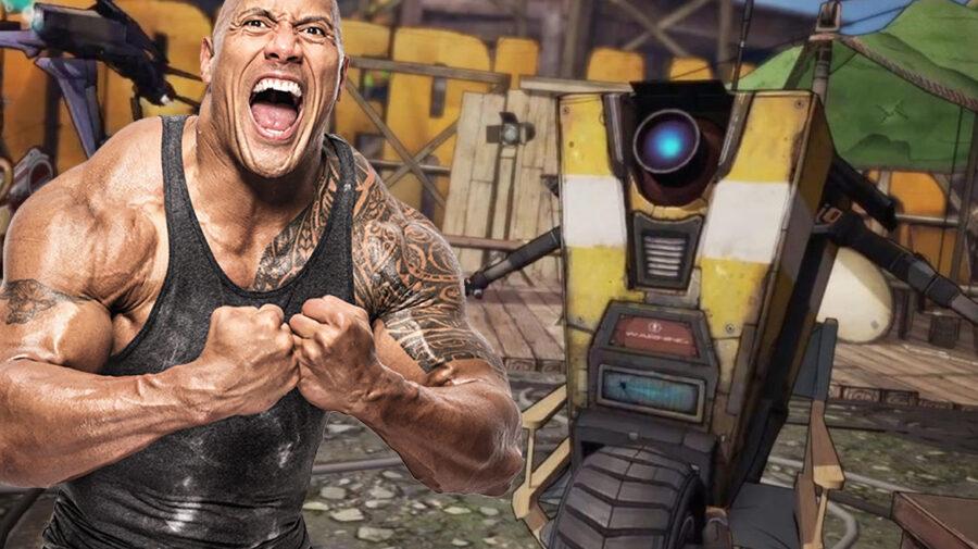 Diretor da Gearbox quer The Rock como Claptrap em filme da franquia Borderlands
