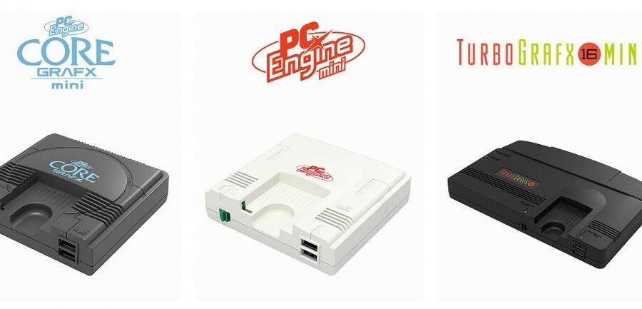 Konami anuncia mais 7 títulos para TurboGrafx-16 / PC-Engine Mini