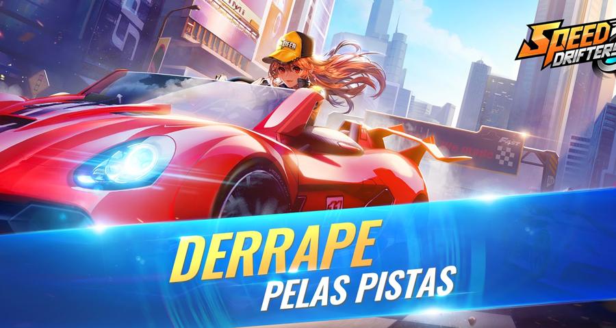 Speed Drifters, um dos mais populares jogos de corrida mobile, chega ao Brasil