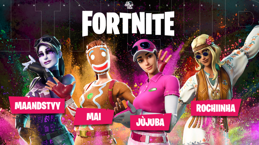 Fortnite: Athenas e-Sports anuncia line-up feminina