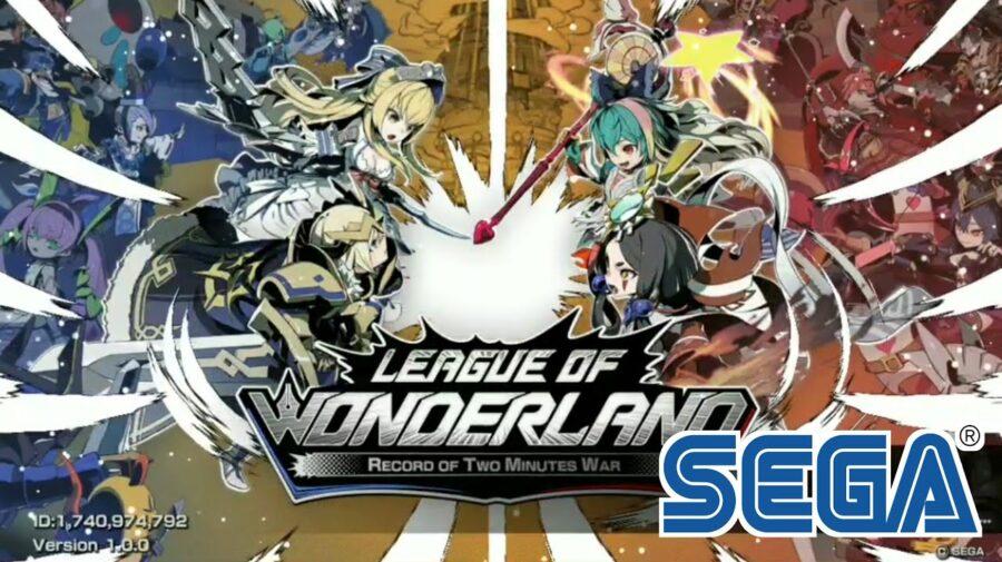 League of Wonderland, novo jogo de estratégia da SEGA, ganha data de lançamento