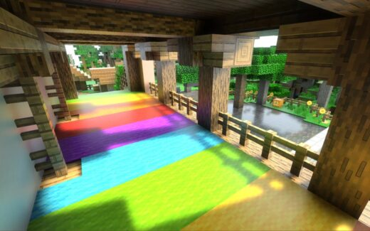 Minecraft com Ray Tracing na GeForce RTX