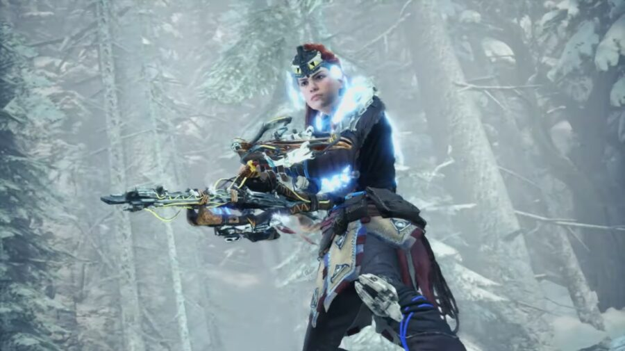 Aloy, de Horizon Zero Dawn, está de volta em Monster Hunter World: Iceborne