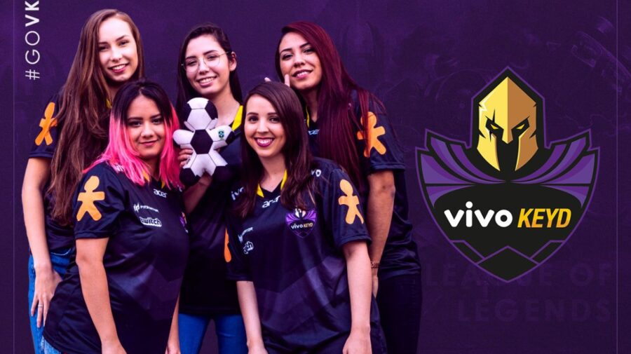 League of Legends: Vivo Keyd anuncia line-up feminina