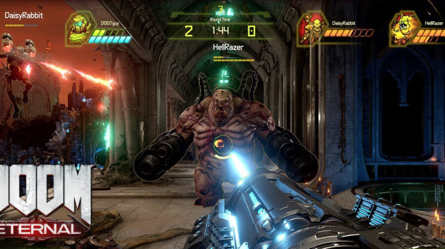 Doom Eternal divulga trailer do modo Battlemode